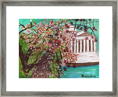 TJ Framed Print by George  Washnis