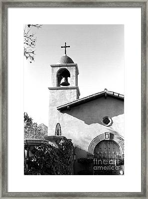 Tlaquepaque Chapel Framed Print