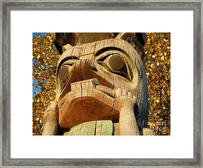 Tlingit Totem Framed Print