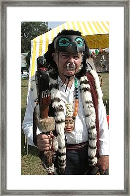Tlinkit Northwest American Indians Framed Print by Bill Marder