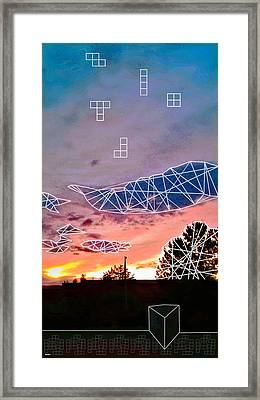 Tmbl And Mrge Framed Print by Morgan  Ralston
