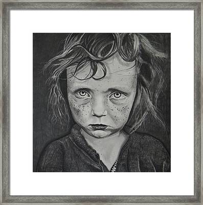 To Be Alone  Framed Print