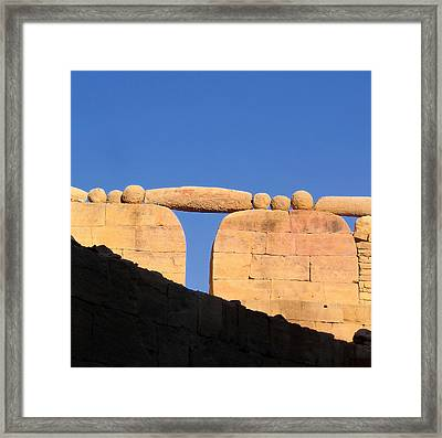 To Be Balanced.. Framed Print by A Rey