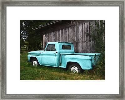 To Be Country - Vintage Vehicle Art Framed Print