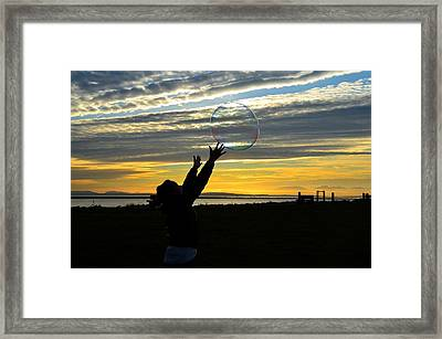 To Catch A Dream Framed Print by Kathy King