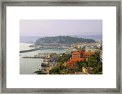 To Catch A Thief - Nice France Framed Print by Christine Till