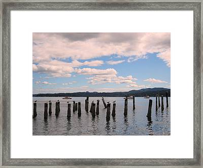 To Each His Own Framed Print by Kym Backland