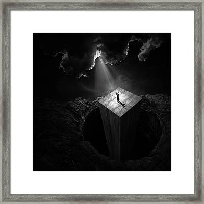 To Escape The Void Framed Print