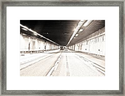 To Felixstowe Bound Framed Print by Steven Poulton
