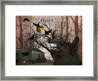 To Gramma's House Framed Print by Donna Lee Young