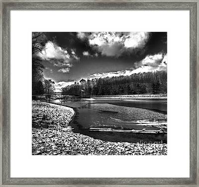 Framed Print featuring the photograph To Grand Mother's House by Robert McCubbin