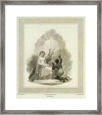 To Jesus Consecrated Framed Print by British Library