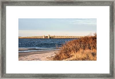 To Jones Beach Framed Print by JC Findley