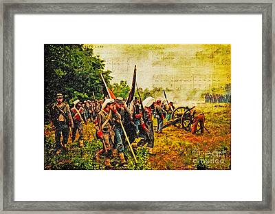 To Live And Die In Dixie Framed Print