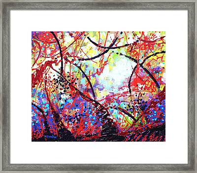 To Make Visible The Invisible Iv  Framed Print
