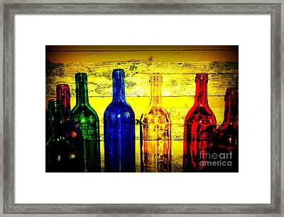 To Much Of Wine Framed Print by Susanne Van Hulst