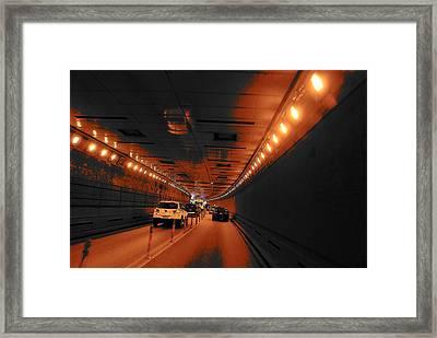 To Queens Framed Print by John Schneider