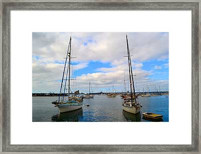To Sail Framed Print
