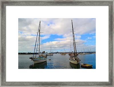To Sail Framed Print by Regina Avila