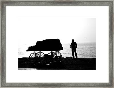 To Sea... Framed Print by Lee Stickels