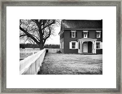 To Sherfy's House Framed Print