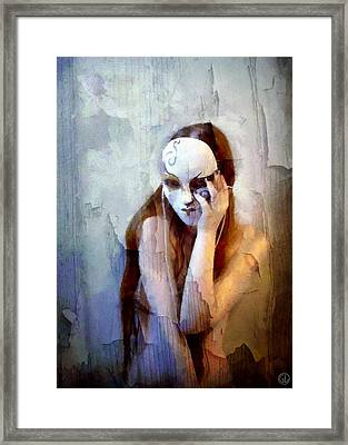To Show The Body But Hide The Face Framed Print by Gun Legler