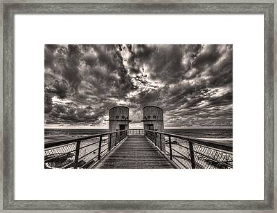To The Bridge Framed Print by Ron Shoshani