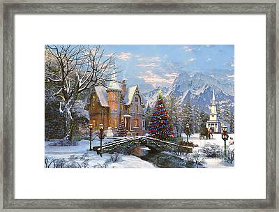 To The Church Best Framed Print by Dominic Davison