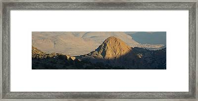 To The End Of Nevada Framed Print