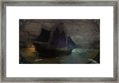 To The Ends Of The Earth Framed Print by Kylie Sabra
