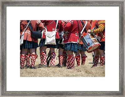 To The Feet Of A Differant Drummer Framed Print by Jim Cook