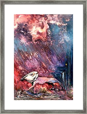 Framed Print featuring the painting To The Freedom by Mikhail Savchenko