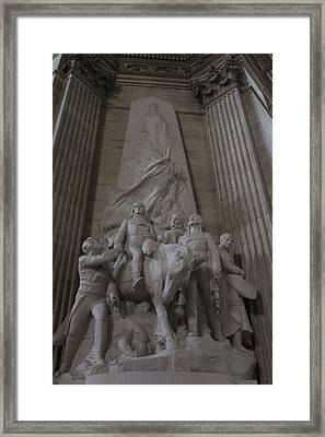 To The Glory Of The Generals Of The Revolution Framed Print