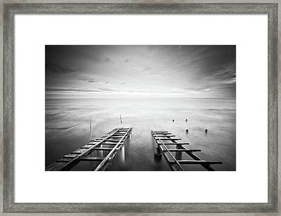 To The Infinity Framed Print