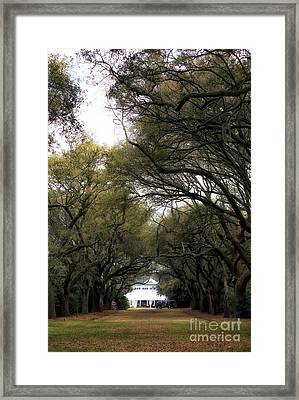 To The Legare Waring House Framed Print by John Rizzuto