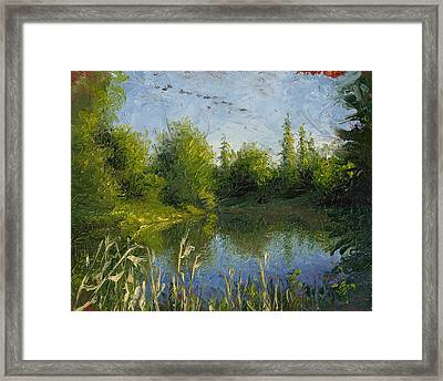 To The Morning Framed Print by Timothy Jones