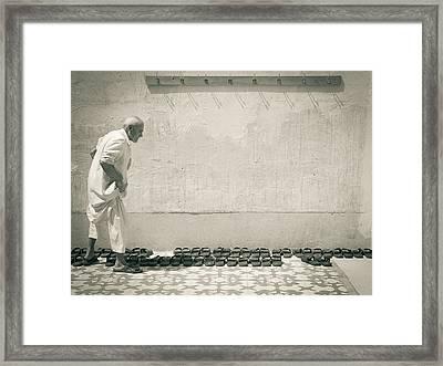 To The Mosk Framed Print by Charlie Tash