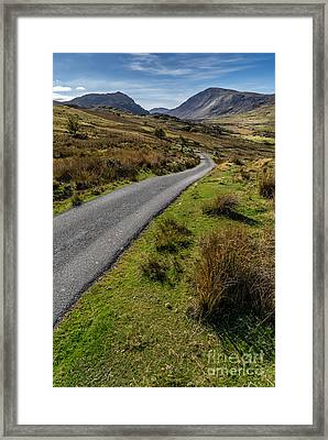 To The Mountains Framed Print