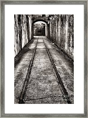 To The Nightmare Framed Print by Olivier Le Queinec
