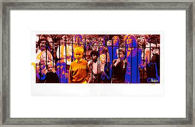 To The Other Side Framed Print by Marcos Jara Puccio
