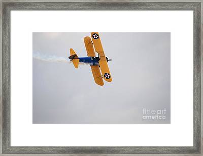 Framed Print featuring the photograph To The Right... by George Mount