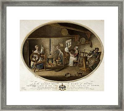 To The Right Honable The Earl Of Moira, This Plate, Taken Framed Print by Litz Collection
