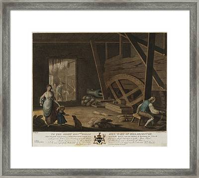 To The Right Honable Wills Hill, Earl Of Hillsborough, This Framed Print