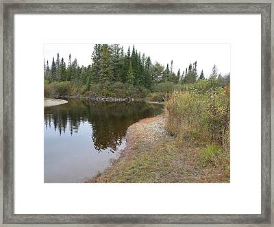 To The River Framed Print by Jean Macaluso