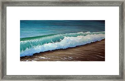 To The Shore Framed Print
