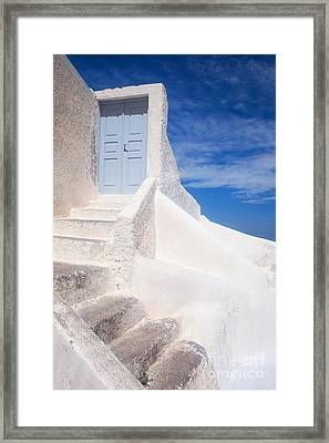 To The Sky Framed Print by Aiolos Greek Collections