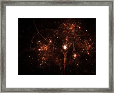 To The Stars And Back Framed Print by Steve K