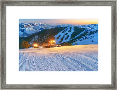 To The Top Framed Print