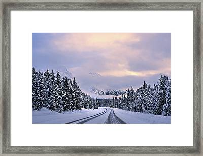 To The Wonderland Framed Print