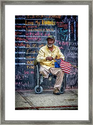 To Those Who Served Framed Print